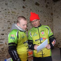 Grég ( modérateur ) et Philippe ( président du club )